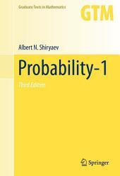 Probability-1: Edition 3