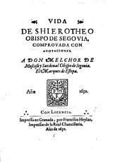 Vida de Shierotheo obispo de Segovia
