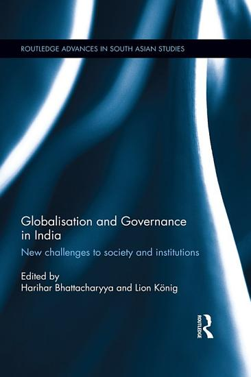 Globalisation and Governance in India PDF