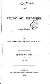 The Study of Medicine: Volume 4