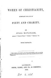 Women of Christianity, exemplary for acts of piety and charity