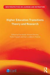 Higher Education Transitions: Theory and Research