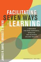 Facilitating Seven Ways of Learning PDF
