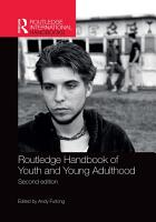 Routledge Handbook of Youth and Young Adulthood PDF