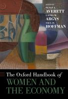 The Oxford Handbook of Women and the Economy PDF