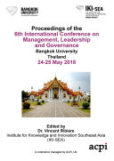 ICMLG 2018 6th International Conference on Management Leadership and Governance