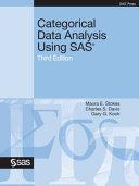 Categorical Data Analysis Using SAS  Third Edition PDF