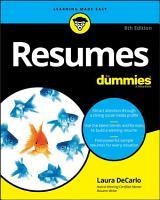 Resumes For Dummies PDF