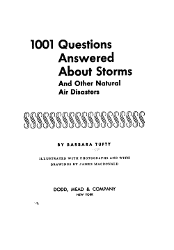 1001 Questions Answered about Storms  and Other Natural Air Disasters PDF
