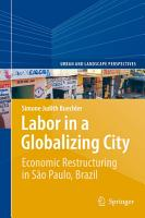 Labor in a Globalizing City PDF
