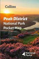 Peak District National Park Pocket Map