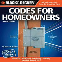 Black   Decker Codes for Homeowners PDF