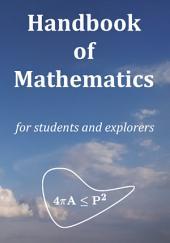 Handbook of Mathematics: For Students and Explorers