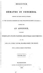 Debates in Congress: Volume 13; Volume 68