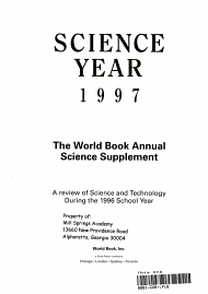 Science Year PDF