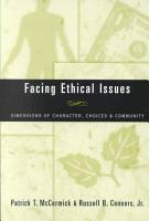 Facing Ethical Issues PDF