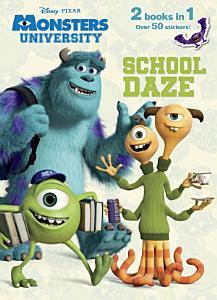 School Daze Monster Party  Jumbo Coloring Book Book