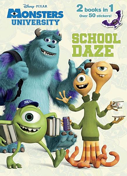 School Daze/Monster Party! Jumbo Coloring Book