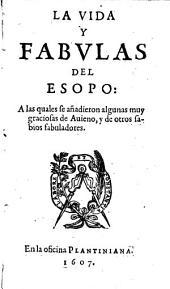 La vida y las fabulas de Esopo