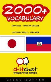 2000  Japanese   Haitian Creole Haitian Creole   Japanese Vocabulary