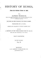 History of Russia, from the Earliest Times to 1880: Volume 2