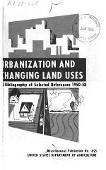 Urbanization and Changing Land Uses