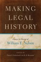 Making Legal History PDF