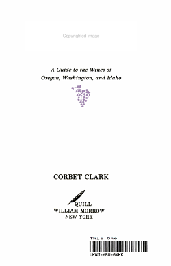 American Wines of the Northwest PDF