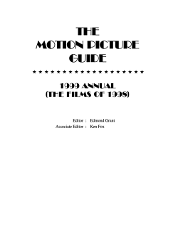 The Motion Picture Guide PDF