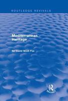 Mediterranean Heritage  Routledge Revivals  PDF