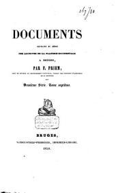 Précis analytique des documents que renferme le dépot des archives de la Flandre-Occidentale à Bruges: Volume10