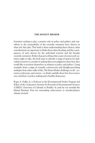 Download The Honest Broker Book