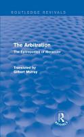 The Arbitration  Routledge Revivals  PDF