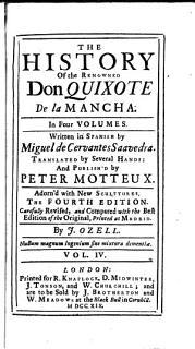 The History of the Renowned Don Quixote de la Mancha 4 Book