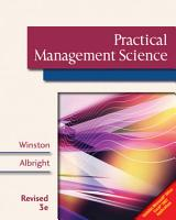 Practical Management Science  Revised PDF