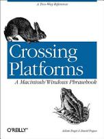 Crossing Platforms A Macintosh Windows Phrasebook PDF