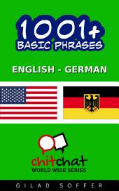 1001+ Basic Phrases English - German