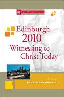 Edinburgh 2010 Witnessing to Christ Today PDF