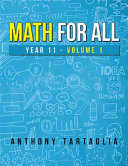 Math for All  Year 11   Volume 1 PDF