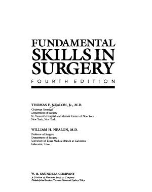 Fundamental Skills in Surgery PDF