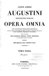 Opera omnia: Volume 9