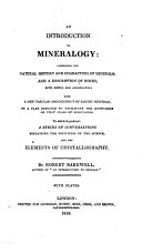 An introduction to mineralogy PDF
