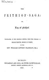 Frithiof-saga: Or the Lay of Frithiof