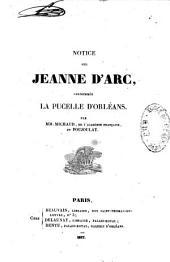 Notice sur Jeanne d'Arc