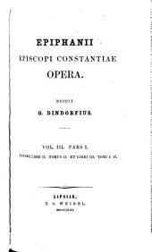 pars 2. Annotationes ad Panarium. 1862