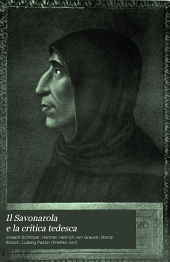 Il Savonarola e la critica tedesca