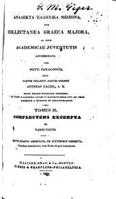 Excerpta ex variis poetis