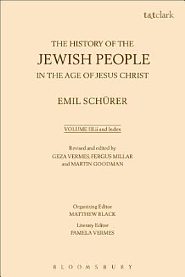 The History of the Jewish People in the Age of Jesus Christ  Volume 3 ii and Index PDF
