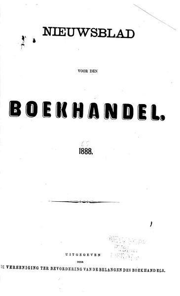 Download Nieuwsblad Voor Den Boekhandel Book