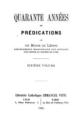 Quarante années de prédications